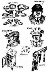 Ilustrowany słowniczek lwowskiego bałaku – Fot. http://www.polska1918-89.pl/