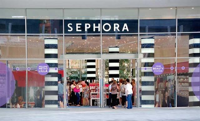 Loja de maquiagem Sephora em Roma