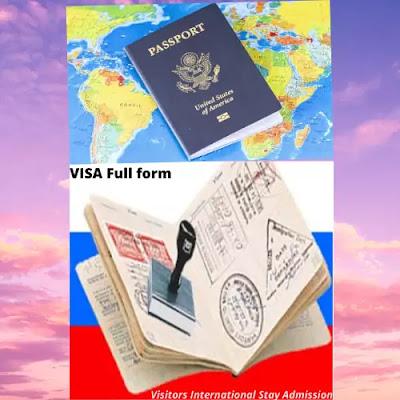 VISA Full Form