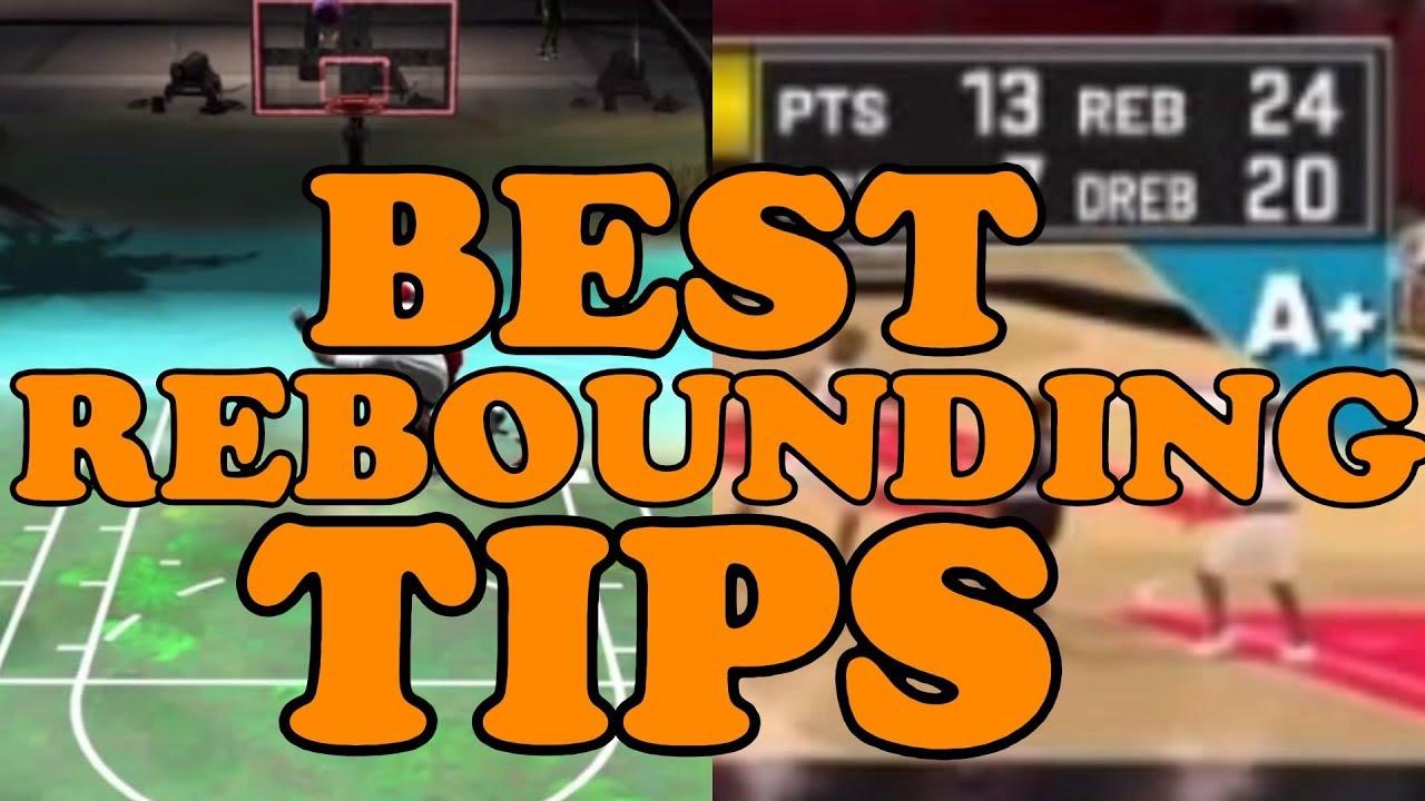 NBA 2K21 Rebouding Tips