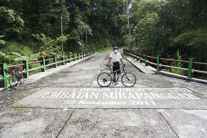 Jembatan Suropanggah di Dusun Turgo