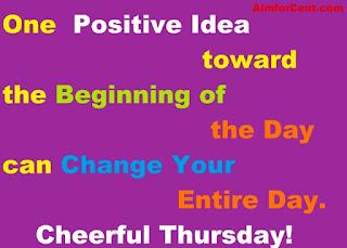 Best Thursday Motivation Quotes: AimforCent