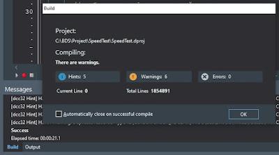 Delphi 10.4.1 Win32