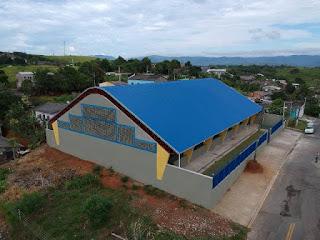 Inauguração da Quadra Poliesportiva Jardim Ana Maria em Cajati