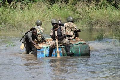 Army troops tour Sambisa