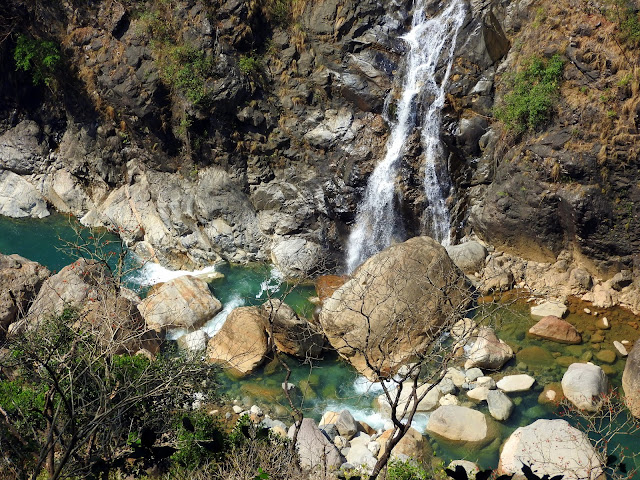 waterfall, Meghalaya, India, water