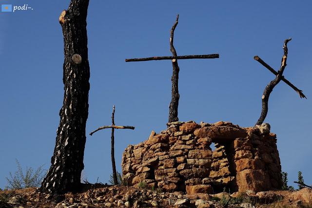 BP-1101, Sant Salvador de Guardiola, Bosc de les Creus