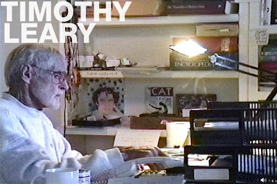 Timothy Leary at work