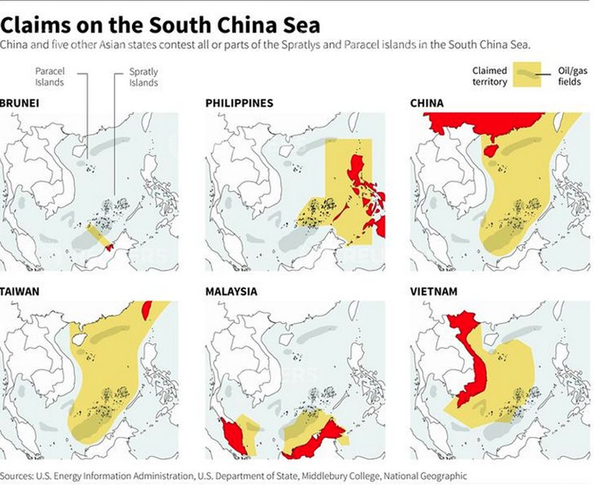 Collapse China: • The South China Sea is now a 'core ...