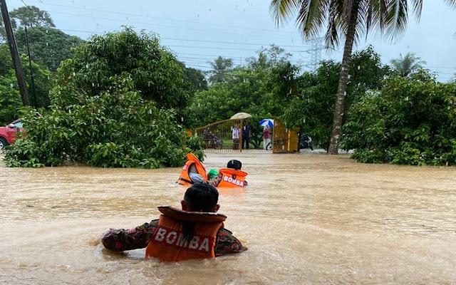 Muar, Gua Musang Dan Seremban Antara Daerah Yang Terjejas Disebabkan Banjit Kilat