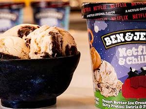 La nouvelle glace Ben & Jerry's et Netflix !