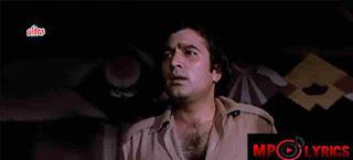 Main Shayar Badnaam Lyrics – Namak Haraam – Kishore Kumar