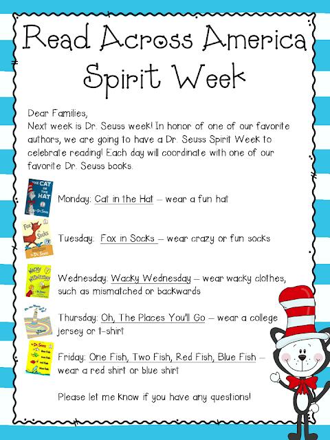 Calendar Dress Up Ideas : Getting ready for reading week teacher by the beach