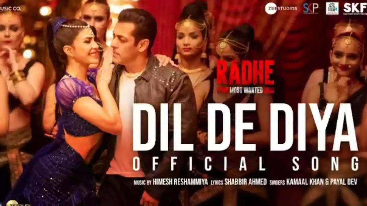 Salman Khan's 'Radhe: Your Most Wanted Bhai' new song Dil De Diya's teaser released