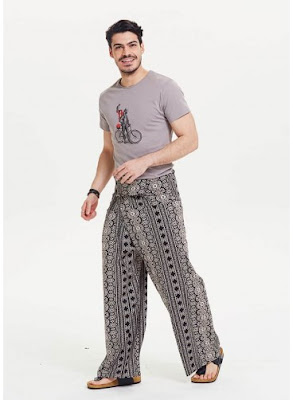 Desenli balıkçı pantolonu