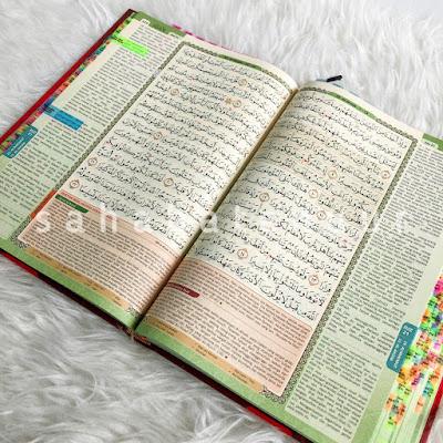 alquran tagging saiz besar saiz A4 al quran al haramain