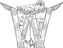 coloring pages for catholic faith | Catholic Faith Education: Nativity Coloring Pages