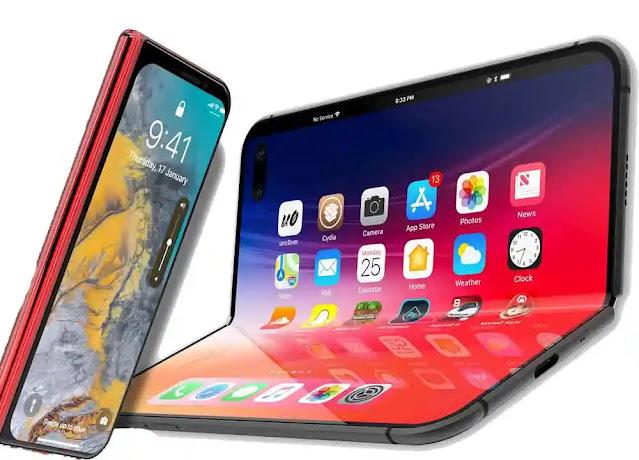 شركة آبل الأمريكية  تسجل براءة اختراع لشاشة قابلة للطي