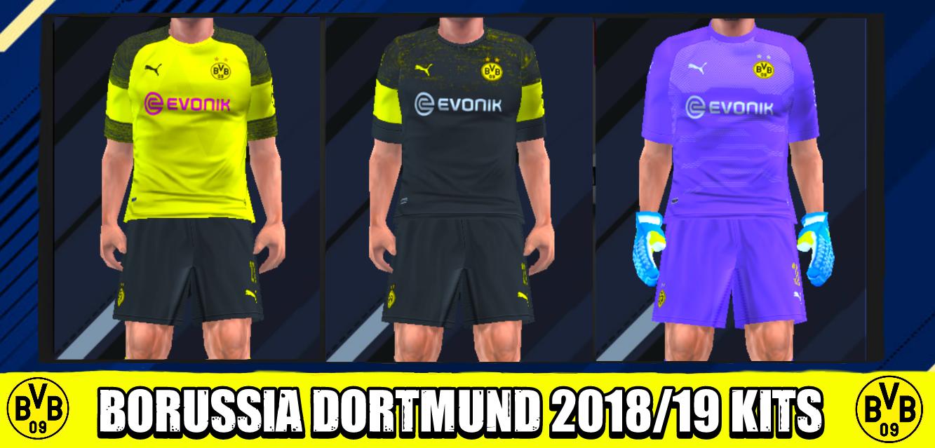 424d67272 Borussia Dortmund 2018 19 Kits Human Foot Psp For Emulator Ppsspp ...