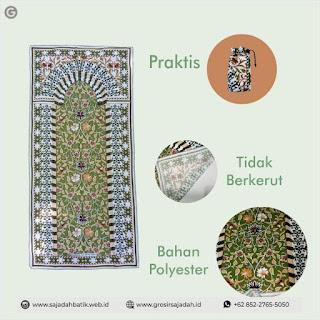 Sajadah Katun Batik | +62 852-2765-5050