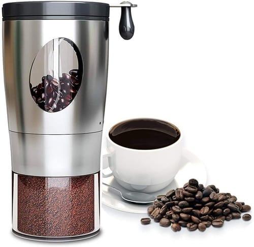 VEGAS Adjustable Setting Manual Coffee Grinder