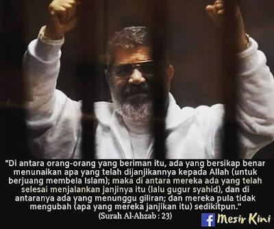 dr. Mursi meninggal dunia
