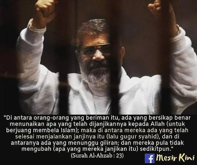 Perginya Seorang Presiden Negara yang digeruni Musuh Islam.