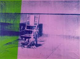 Творчество Энди Уорхола после покушения электрический стул