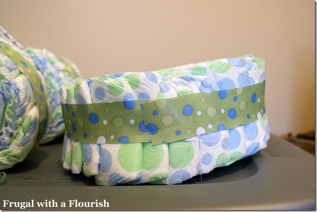 Make Tricycle Diaper Cake