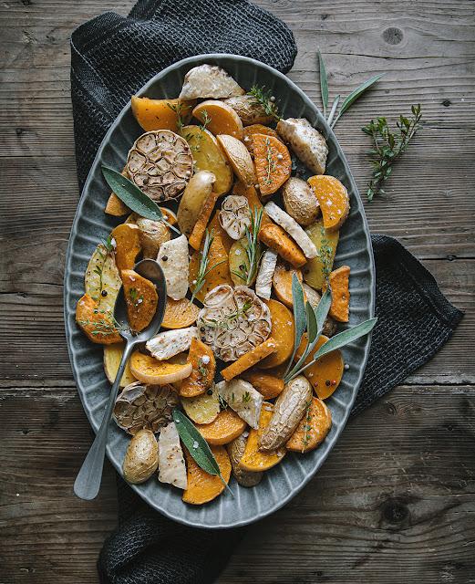 Recette de Noël Vegan : Légumes rôtis parfaits