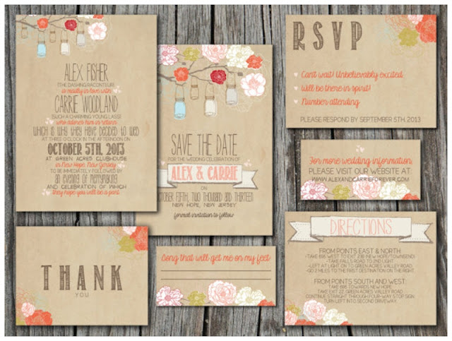 How Big Are Wedding Invitations: Before The Big Day: Bunting