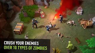 Jogo de simulação de Zombie para Android