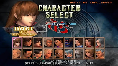Characters of Bloody Roar 4