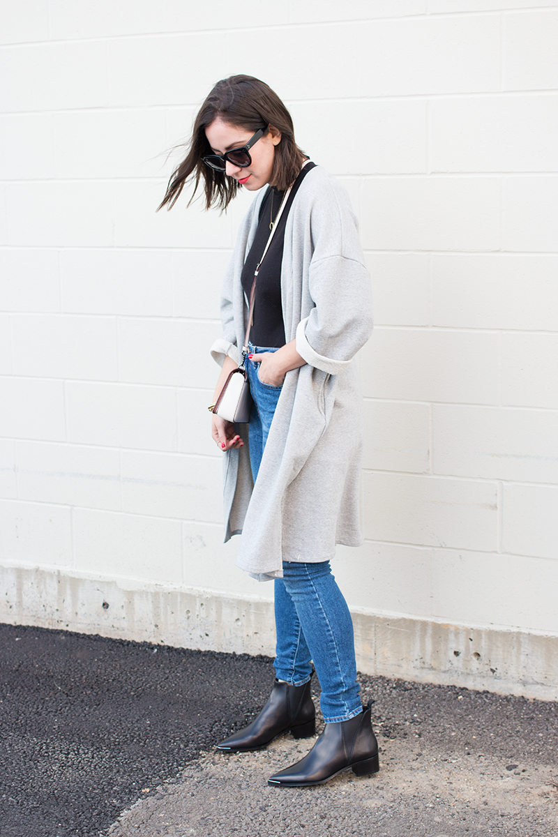 How to Style an Oversized Cardi