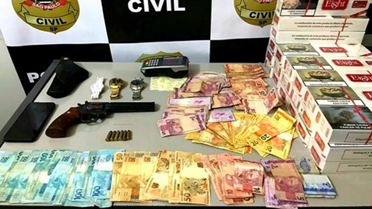 Polícia Civil flagra cassino com jogos de azar em Bauru