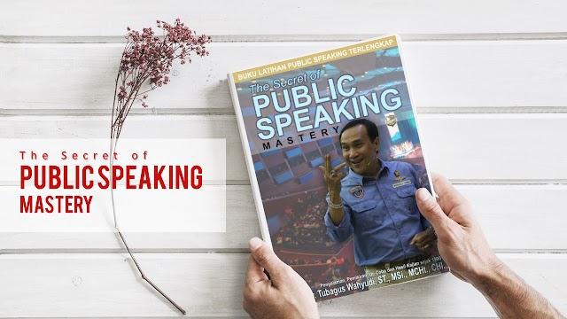 Bagaimana BANGKIT dari Kegagalan menuju Sukses di bidang Apapun dengan The Secret of Public Speaking Mastery Book