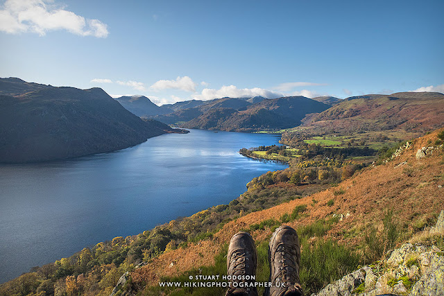 hiking Ullswater walks Gowbarrow Fell Aira Force best Lake District views Lakes Cumbria England