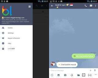 BBM Mod Line Messenger 2.13.1.13 di Android Release Terbaru