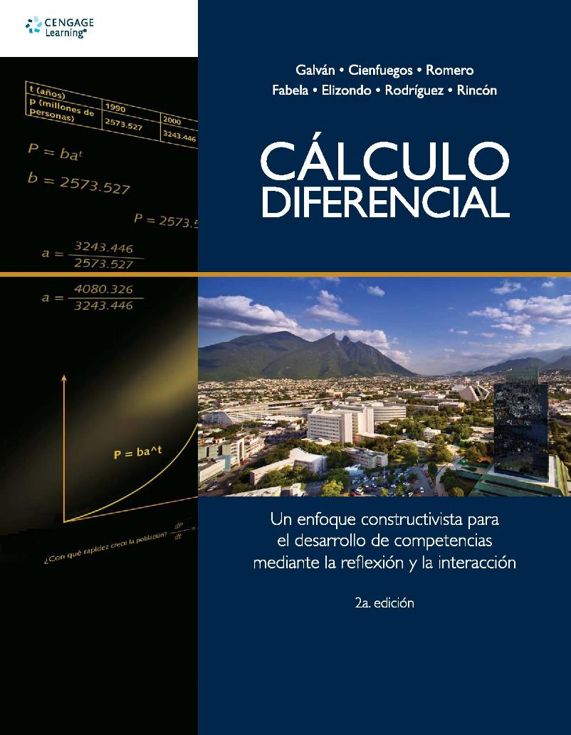 Cálculo diferencial, 2da Edición –  Delia Aurora Galván Sánchez
