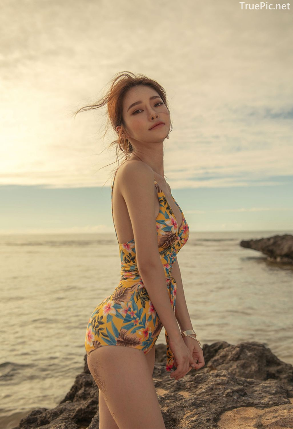 Korean Fashion Model - Kim Moon Hee as an Angel in Summer Swimsuit - TruePic.net - Picture 7