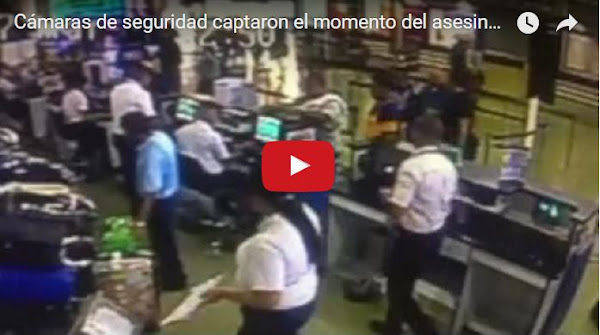 Difunden vídeo del asesinato de viajero de Maiquetía