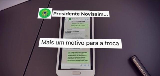 DECLARAÇÕES DE MORO COM ACUSAÇÕES A BOLSONARO