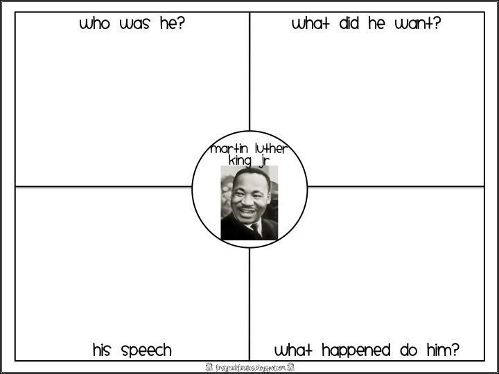 Free Martin Luther King Worksheets - Hypeelite