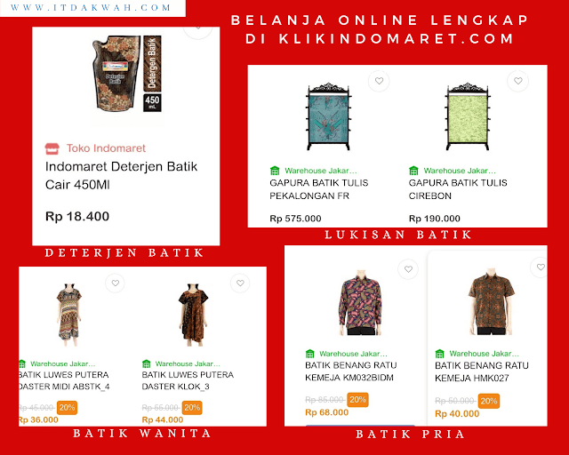 Belanja online lengkap di klikindomaret.com