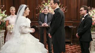 Boda de Sheldon y Amy