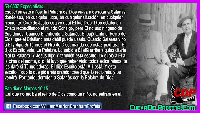 Como derrotar a Satanás el diablo - William Branham en Español