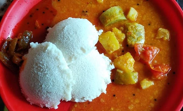 Breakfast on my plate: Kerala special Idly and Sambar by Revathy