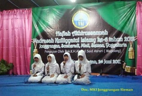 Contoh Susunan Acara Pengajian Akbar dan  Pengajian Rutin Bersama