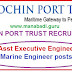 Cochin Port Trust Recruitment 2017,Asst Executive Engineer,Marine Engineer Posts Apply Now: