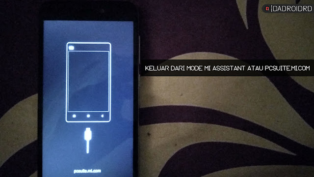 Cara keluar dari Xiaomi pcsuite.mi.com atau Mi Assistant